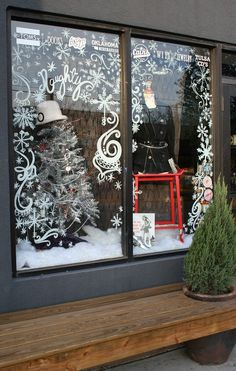 CHRISTMAS WINDOW DISPLAY!!!