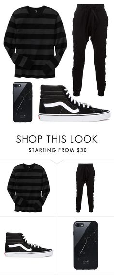 """Lazy Day"" by kokobeenz ❤ liked on Polyvore featuring Gap, Blood Brother, Vans, Native Union, men's fashion and menswear"