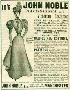 1897. Interesting how it advertises Victorian clothing during what we call the Victorian Era.