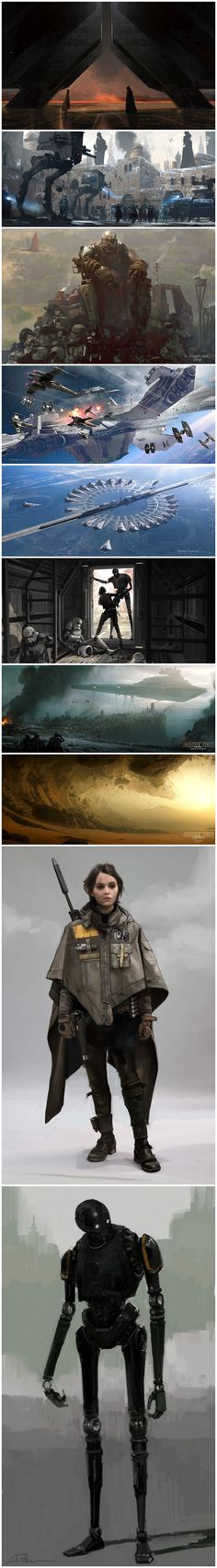 The amazing concept art for Star Wars: Rogue OneThe Art of Rogue One: A Star Wars Story