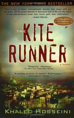 The Kite Runner; Khaled Hosseini. An excellent, timely debut novel. Very perceptive, well written, and original.