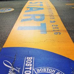 always at the starting line but never started any of the race #bostonMarathon2016 #twoWeekAffair