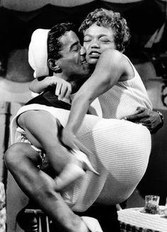 Sammy Davis Jr. & Eartha Kitt, in Anna Lucasta,1958