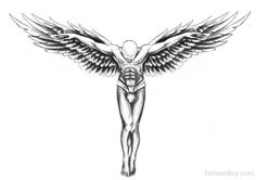 Guardian Angel Tattoos | Tattoo Designs Tattoo Pictures | Page 6