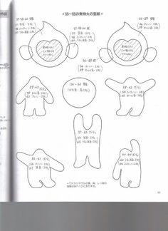 Revista Japonesa - Bichinhos em feltro - Luciana de Campos - Álbuns da web do Picasa