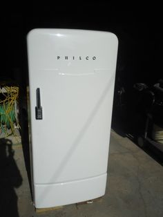 Vintage 1950's Philco Refrigerator Works Great   eBay