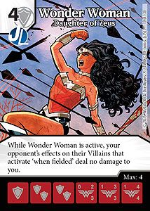 Wonder Woman - DC Dice Masters