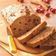 Baking with Sweet Potatoes Recipes from Taste of Home, including Cranberry Sweet Potato Bread