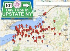 101 Day Trips in Upstate NY - All Within 3 hours of Rochester, NY!