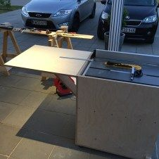 DIY Tablesaw Stand