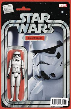 Star Wars Vol 4 Cover B John Tyler Chistopher Stormtrooper Action Figure Cover Comic Star Wars Comic Books, Star Wars Comics, Star Wars Toys, Marvel Comic Books, Star Wars Art, Tyler Christopher, John Tyler, Starwars, Stormtrooper Action Figure