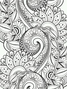 Busy Coloring Pages To Help Adults Relax Upload Davlin Publishing