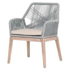 Orient Express Furniture New Wicker Loom Arm Chair & Reviews   Wayfair
