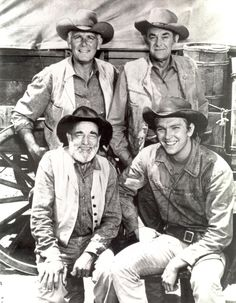Wagon train tv series | Wagon Train Cast, including Denny Miller