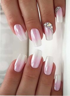 Pink is one of the colors that is most liked by young females nowadays. Whether it is hair colors or nail designs, pink colors is one of the best choice for ladies since last many years. You may visit here and see how beautiful ideas of pink nails we have collected just for you. You may copy one of the best styles from these best given combinations of pink and white nail arts to wear in 2018.
