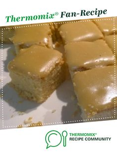 Ginger slice by bjajun. A Thermomix <sup>®</sup> recipe in the category Baking - sweet on www.recipecommunity.com.au, the Thermomix <sup>®</sup> Community.
