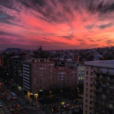Sunset @ Barcelona, Spain