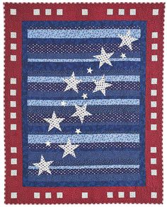 QMMP 120800 PATRIOT flat1 Patriotic Quilts: Happy 4th of July!
