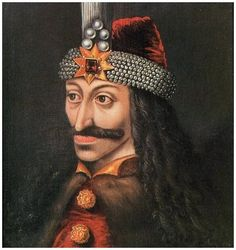 Vlad the Impaler (In Bram Stoker's Dracula.Dracula was thought to have been this historical figure prior to becoming a vampire) Vlad Der Pfähler, Vlad El Empalador, Dracula Castle, Dracula Tv, Vampire Dracula, Vlad The Impaler, Real Vampires, Visit Romania, Monsters