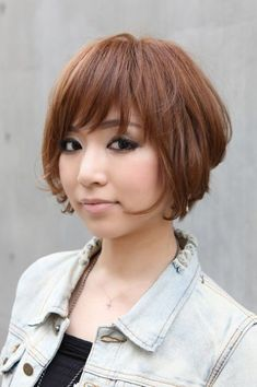 Trendy Short Copper Haircut from