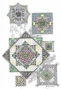 Boxed Garden by Judy's Creative Doodling, via Flickr