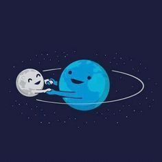 moon, earth, and planet-bilde