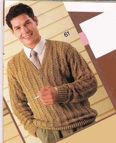 Beige Sweater free crochet graph pattern