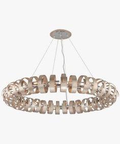 InternationalLightInc   Recoil - Eighteen Light Pendant
