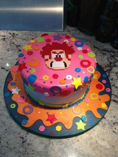 Wreck It Ralph on Pinterest | Cake Wrecks, Cake and Birthday Cakes