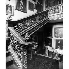 Grinling Gibbons Stairs | Cassiobury Park L8302 - Country Life - Picture Library
