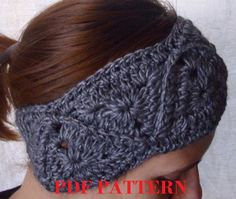 This listing is for a PDF pattern only.    Make your very own headband just like this one with this easy to follow pdf pattern.    Pattern has
