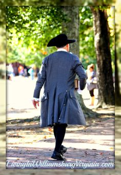 Living In Williamsburg, Virginia: Get Me To The Church On Time. The vicar from Bruton Parish Church briskly walked to get to church on time this morning.