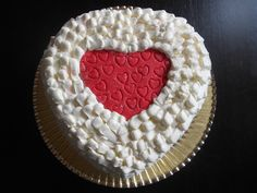 Tarta de San Valentín. Manga pastelera