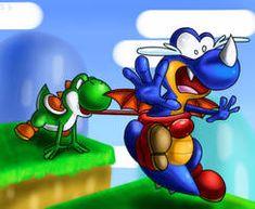 Yoshi vs Rex by Sklavenbrause on DeviantArt Dinosaur Land, Pokemon, Super Mario World, Drawing Games, Yoshi, Bowser, Sonic The Hedgehog, Something To Do, Cool Pictures