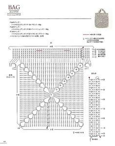 "Photo from album ""Asahi Original - Bag Arrange and Motif Pattern"" on Yandex. Crochet Purse Patterns, Crochet Clutch, Crochet Handbags, Crochet Purses, Crochet Diy, Crochet Mandala, Crochet Motif, Crochet Stitches, Crotchet Bags"