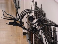 at the Victoria and Albert Museum Wrought Iron Gates, Victoria And Albert Museum, Blacksmithing, Metal Working, Gallery, Ideas, Blacksmith Shop, Metalworking, Roof Rack