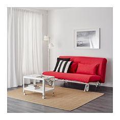 IKEA - IKEA PS MURBO, Sleeper sofa, Vansta red,  , , Extra covers make it easy…