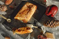 Strudel di pasta fillo con mele e uvetta al marsala - Fidelity Cucina