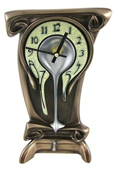 Buy Art Nouveau Melting Bronze Table Clock by Buy Cheap Furniture&Decor