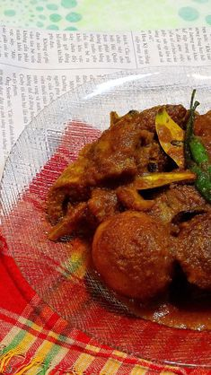 Mutton Curry (Tagore family's recipe) / Kosha Mangsho (Thakurbari style) - Spicy World Simple and Easy Recipes by Arpita World Recipes, Veg Recipes, Indian Food Recipes, Cooking Recipes, Easy Recipes, Cooking Time, Lamb Dishes, Curry Dishes, Kitchens
