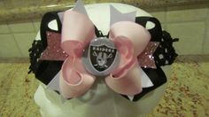 Oakland Raiders Bow