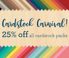 Welcome to my Blog: Cardstock Carnival