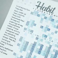 How are you doing on your habit tracker this month? Love the color of this bujo . - How are you doing on your habit tracker this month? Love the color of this bujo … – - Bullet Journal Tracker, Planner Bullet Journal, Self Care Bullet Journal, Bullet Journal Inspo, Bullet Journal Spread, Bullet Journal Layout, Filofax, Bujo, Journal Inspiration