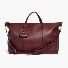 ea24b170b2 12 Gifts for the Jetsetter - Madewell Weekender Bag from InStyle.com Saddle  Handbags