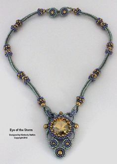 Bead&Button Show: Bead&Button Show Workshops & Classes: Friday June 5, 2015: B151134 Eye of the Storm
