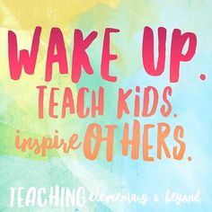 Be an inspiration!  #spms4life #tptehteam #teacherfollowteachers #iteachtoo #teachergram #teacher #teacherlife #teacherquotes    #Regram via @teachingelementaryandbeyond