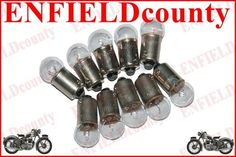 NEW 10 UNITS 6V-1.7W MOTORCYCLE SCOOTER SPEEDOMETER SPEEDO BULBS BA9S-11