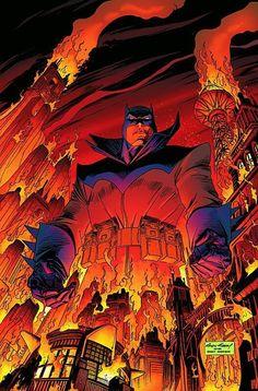 Damian Wayne as Batman by Andy Kubert Batman Dark, Batman The Dark Knight, Batman And Superman, Future Batman, Nightwing, Batgirl, Catwoman, Best Comic Books, Comic Books Art
