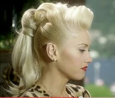victory rolls mohawk. i wish i had the patience to do this.