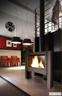 7 Tips For Owning A Fireplace Modern Wood Burning Stoves, Stove Installation, Cast Iron Stove, Pellet Stove, Steel Panels, Stove Fireplace, Home Safes, Decoration, Home Appliances